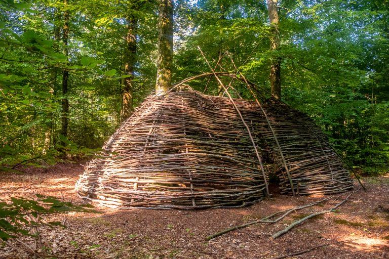 Wald für sie Kinderseele Hütte